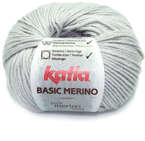 Katia Basic Merino 38 Very light grey