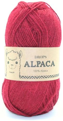 Drops Alpaca Uni Colour 3900 Tomate