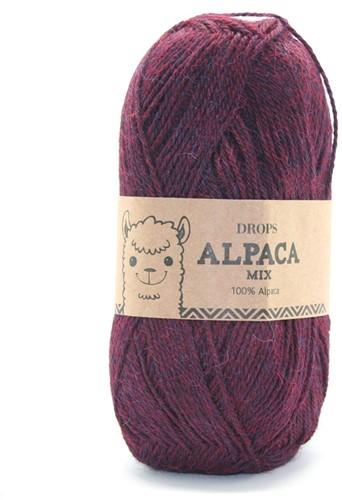 Drops Alpaca Mix 3969 Rot-lila