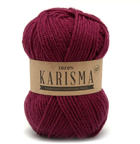 Drops Karisma Uni Colour 39 Dark-old-rose