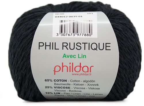 Phildar Phil Rustique 39 Noir