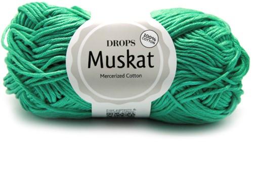 Drops Muskat Uni Colour 03 Mint-green
