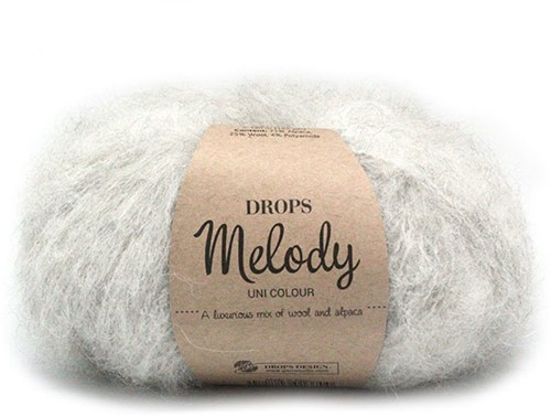 Drops Melody Uni Colour 03 Pearl-grey