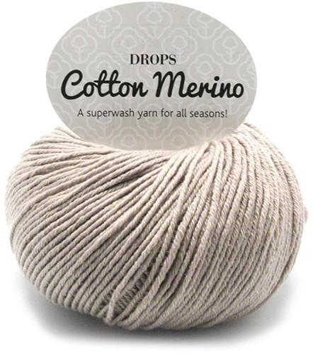 Drops Cotton Merino Uni Colour 3 Beige