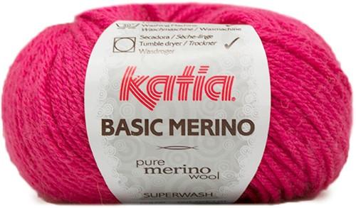 Katia Basic Merino 40  Light fuchsia