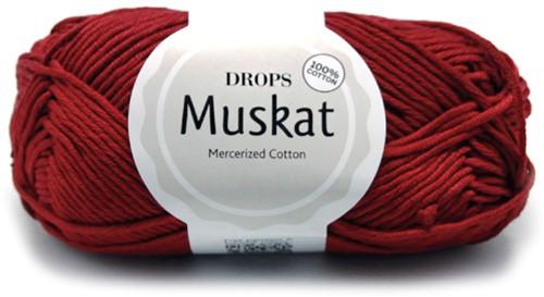 Drops Muskat Uni Colour 41 Bordeaux