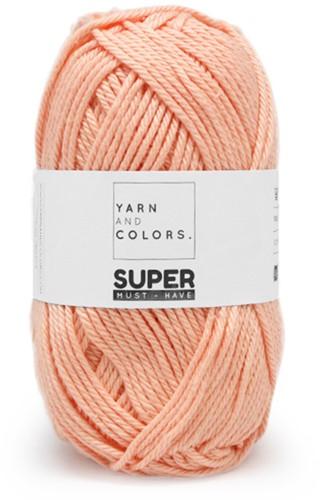 Yarn and Colors Leaf Cushion Häkelpaket 3 Peach