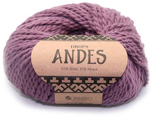 Drops Andes Uni Colour 4300 Altrosa