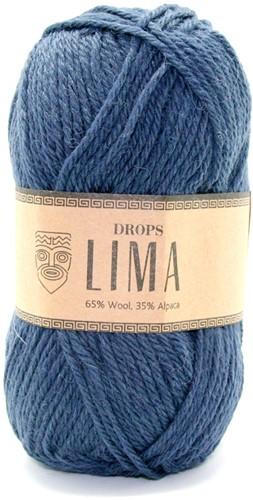 Drops Lima Uni Colour 4305 Dunkelblau