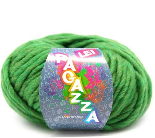 Lana Grossa Ragazza Lei Uni 43 Green/Olive Mottled
