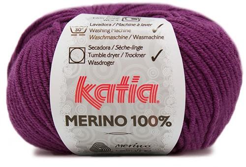 Katia Merino 100% 43 Violet