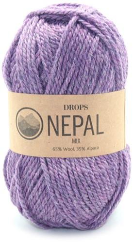 Drops Nepal Mix 4434 Violett
