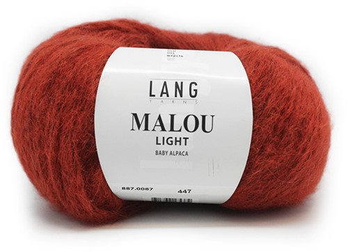 Lang Yarns Malou Light 87 Brick
