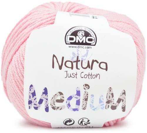 DMC Natura Medium 44 Flamand rose