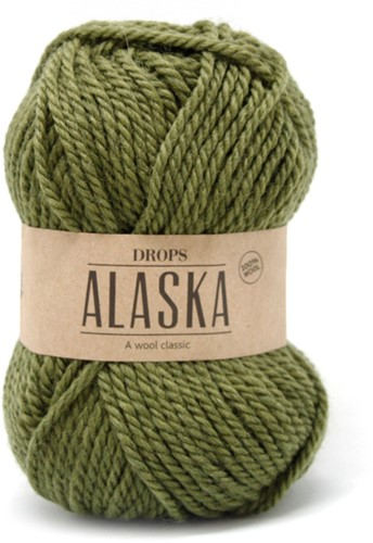 Drops Alaska Uni Colour 45 Light-olive