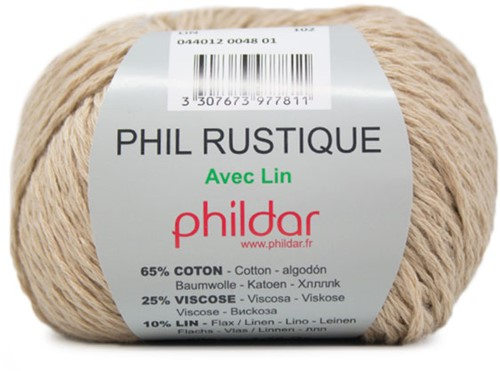 Phildar Phil Rustique 48 Lin