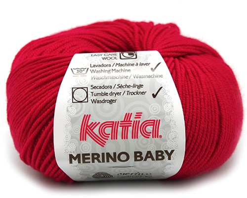 Katia Merino Baby 4 Red
