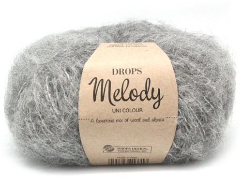 Drops Melody Uni Colour 04 Grey