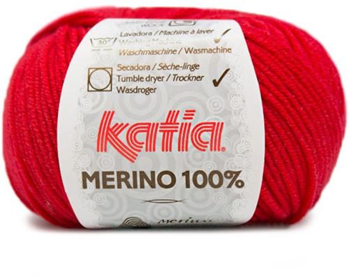 Katia Merino 100% 4 Red