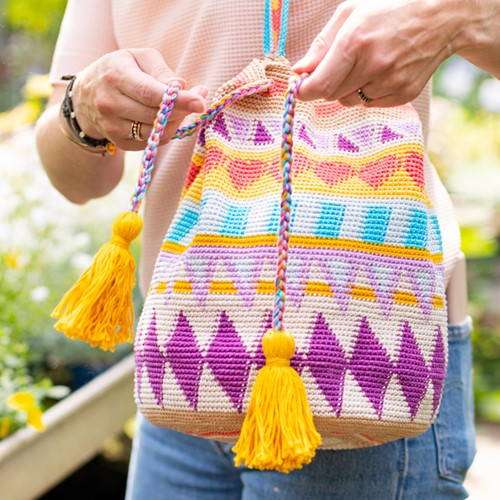 Tapestry Tasche Special Edition Häkelpaket