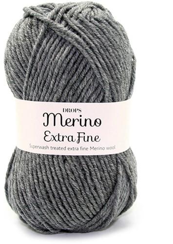 Drops Merino Extra Fine Mix 04 Grau
