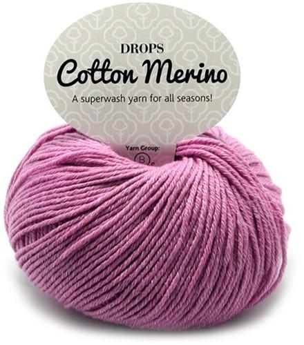 Drops Cotton Merino Uni Colour 4 Flieder