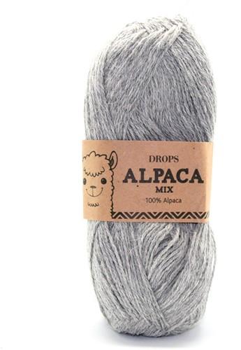 Drops Alpaca Mix 501 Hellgrau