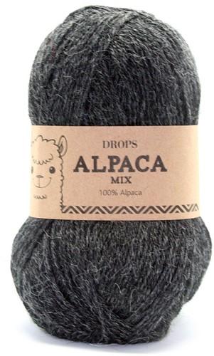 Drops Alpaca Mix 506 Dunkelgrau