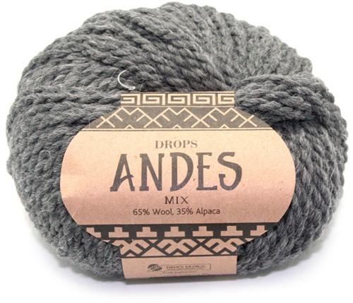 Drops Andes Mix 519 Dunkelgrau