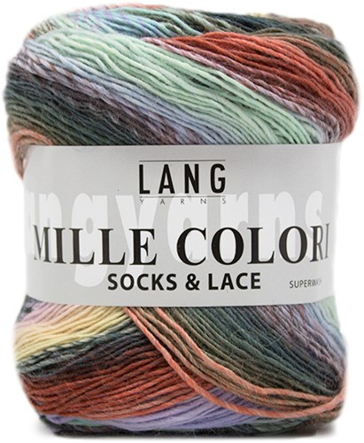Lang Yarns Mille Colori Socks & Lace 51 Multicolor Pastel