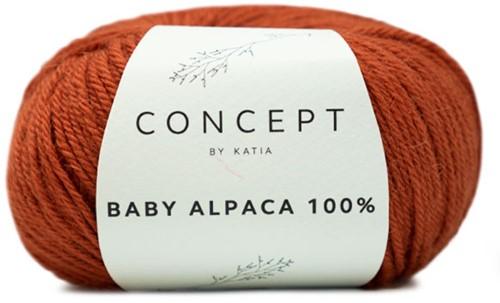 Katia Baby Alpaca 100% 520 Rust