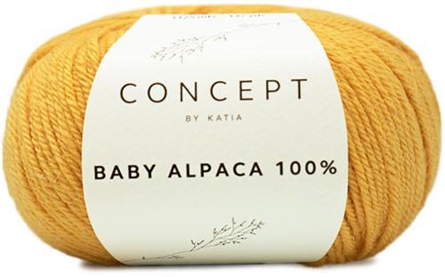 Katia Baby Alpaca 100% 521 Yellow
