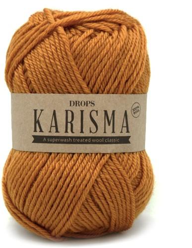 Drops Karisma Uni Colour 52 Dark-mustard
