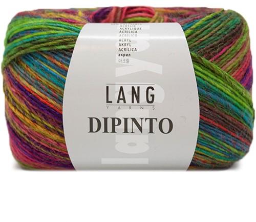 Lang Yarns Dipinto 52 Multicolor/Green