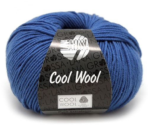 Lana Grossa Cool Wool 555 Cobalt Blue