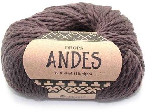 Drops Andes Uni Colour 5610 Braun
