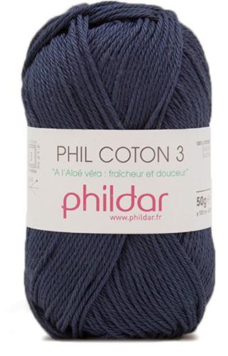 Phildar Phil Coton 3 1446 Marine