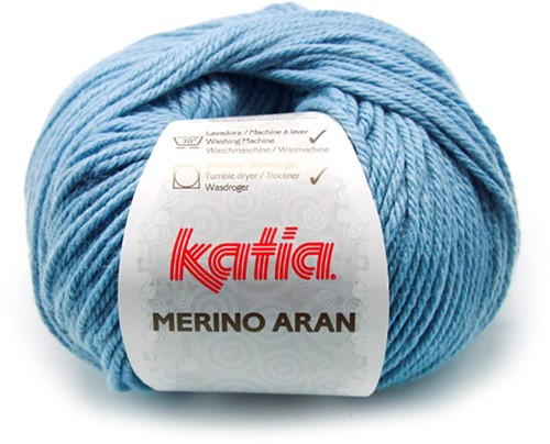 Katia Merino Aran 59 Light blue
