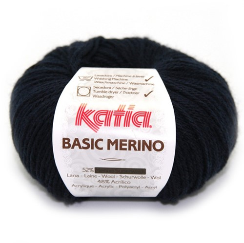Katia Basic Merino 5 Very dark blue