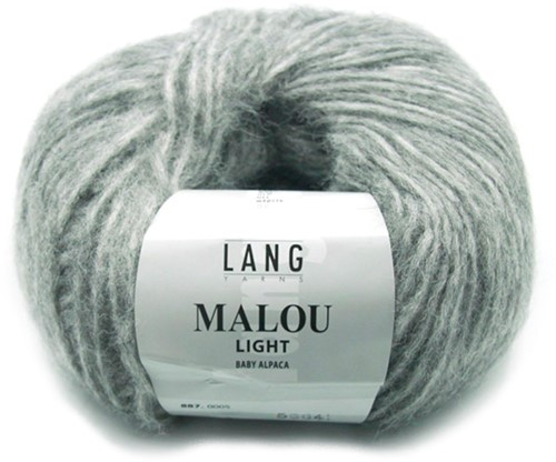 Lang Yarns Malou Light 5 Grey