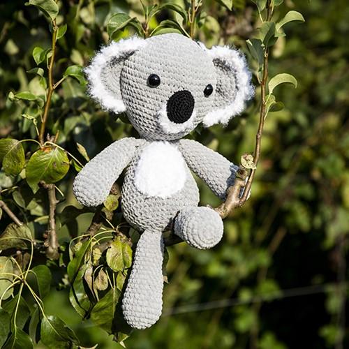 Häkelanleitung Koala