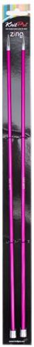 Knitpro Zing Stricknadeln 40cm 5mm
