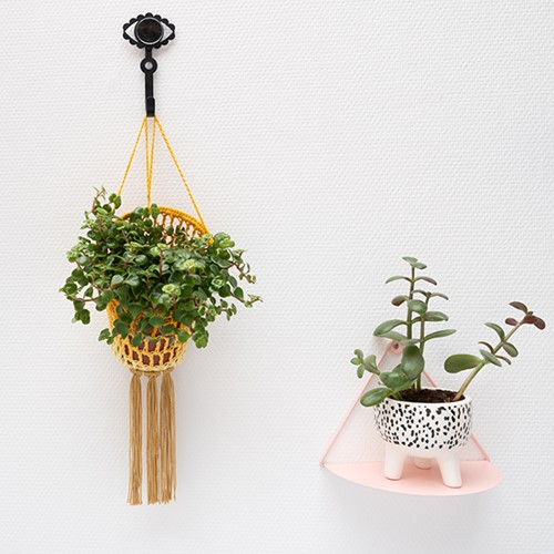 Yarn and Colors Must-Have Plant Holder Häkelpaket 2