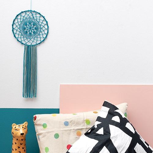Yarn and Colors Must-Have Mandala Häkelpaket 1 Petrol Blue / Eucalyptus