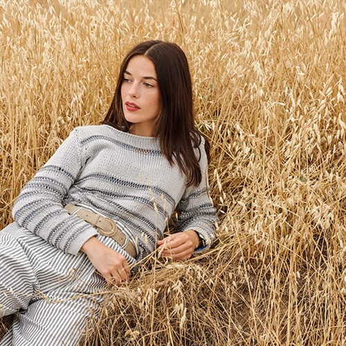 Duomo / Cotton Cashmere Pullover Strickpaket