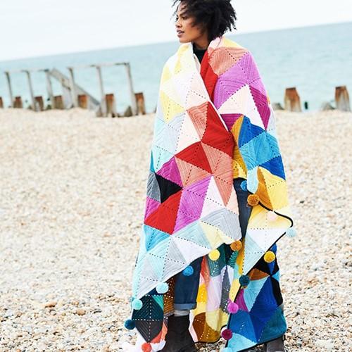 Tessellation Decke Häkelpaket 1 Spring Colours Colourway