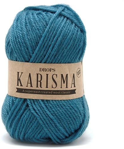 Drops Karisma Uni Colour 60 Blue-turquoise