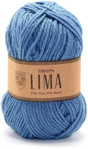 Drops Lima Uni Colour 6235 Graublau