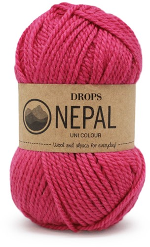 Drops Nepal Uni Colour 6273 Pink