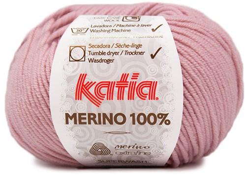 Katia Merino 100% 62 Light pink